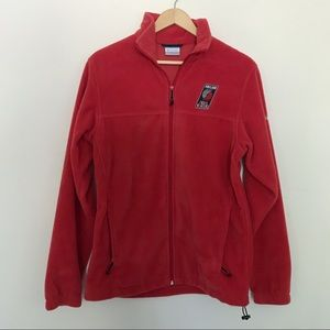 Portland Trailblazers Columbia Fleece Jacket